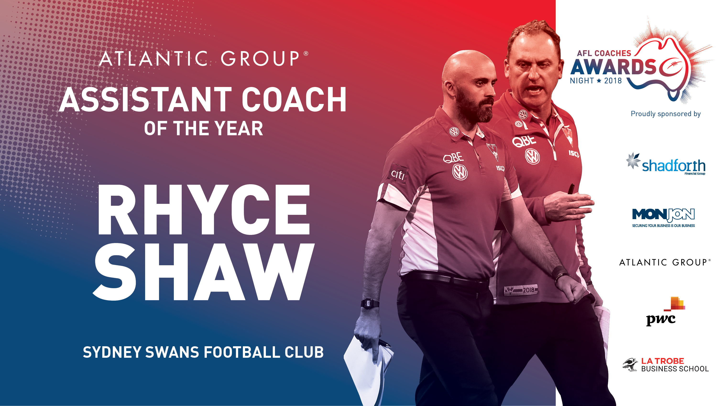 Atlantic Group Assistant Coach of the Year