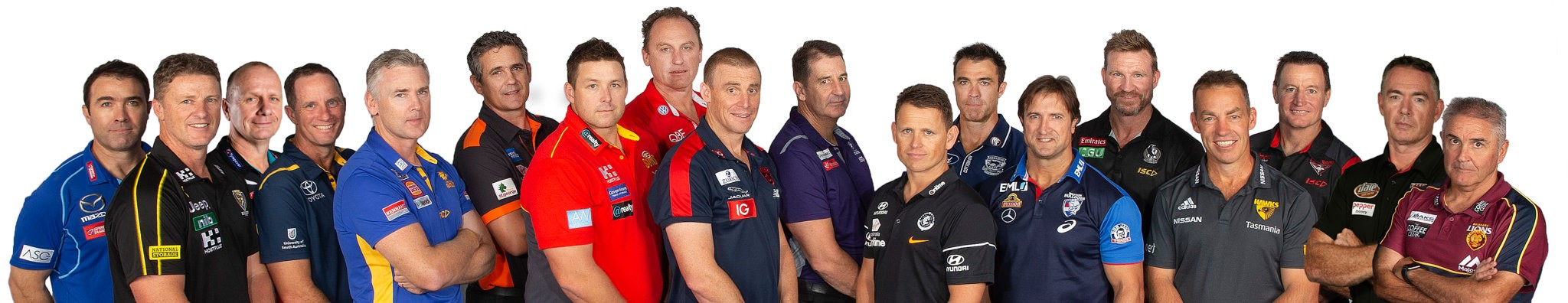 AFL Coaches 2019